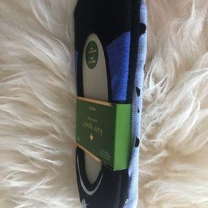 kate spade Accessories - Kate Spade 3 Liner Socks Black Blue Cheetah Cute!